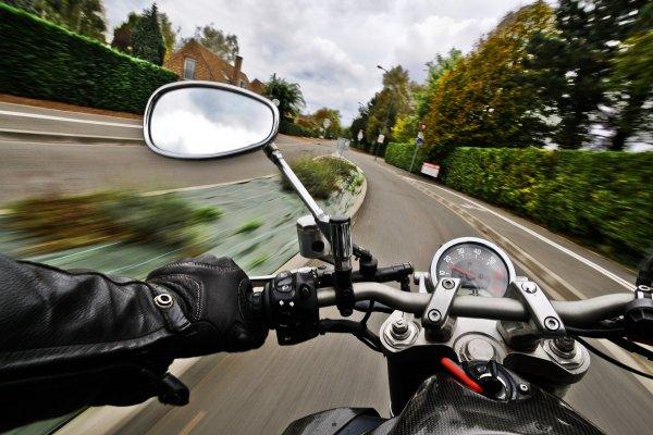 motorcykel, väg