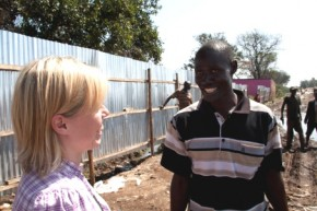 nacka-kisumukollegor vid soptipen i kisumu december 2010