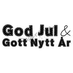 Paper Maze - Stämplar - God Jul & Gott Nytt År