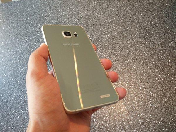 Samsung s6 edge + backside