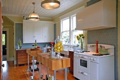 کابینت آشپزخانه سفید هایگلاس