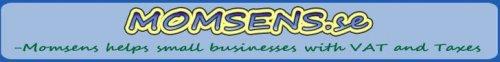 Momsens banner statisk på Engelska