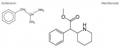 Amfetamin Metylfenidat