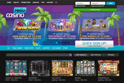Best internet casino bonus center for problem gambling