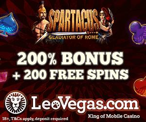 Leo Vegas Online Casino Free Spins