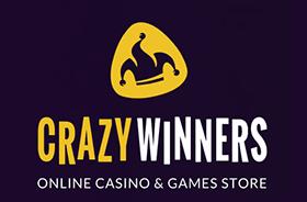 Crazywinners welcome bonus.