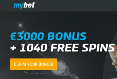 MyBet 1040 free spins