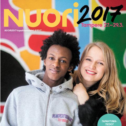 NUORI2017-tapahtuman käsiohjelma ja ohjelmakartta