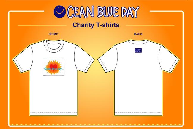 『OCEAN BLUE DAY』のチャリティーTシャツ、再販売のお知らせ!