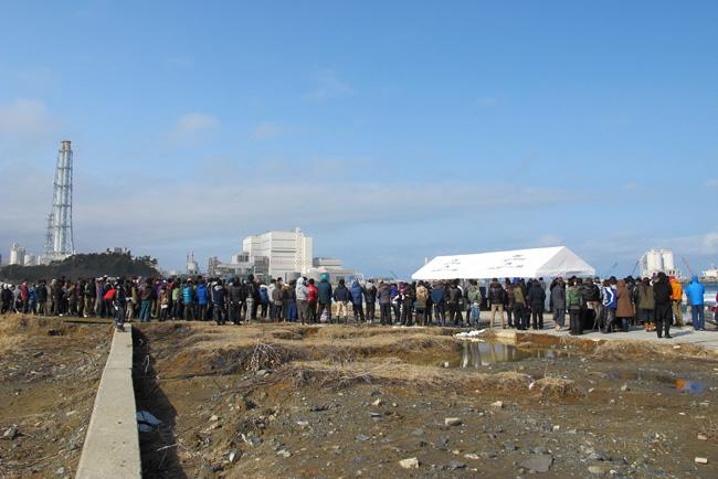 『Ocean Blue Day』全国各地で行われた式典は、2時46分に心を一つにしたはずです。