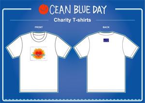 Ocean Blue Day チャリティ Tシャツ