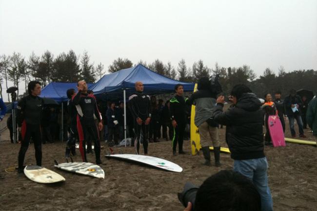 仙台サーフユニオン主催の追悼慰霊祭、安全祈願式典