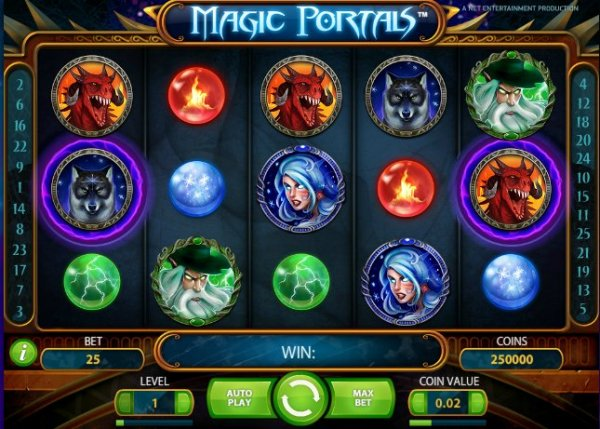 Det nya casinospelet Magic Portals!