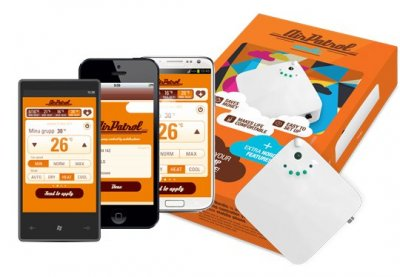 SMS-styrningen AirPatrol