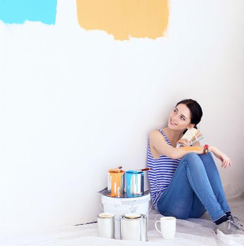 färgval måla vägg
