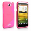 HTC One X Rosa S-Line Skal