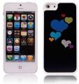 Hjärta Aluminium Svart (iPhone 5)