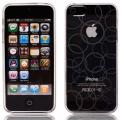 Cirklar Transparent Vit (iPhone 5)