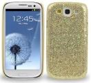 Samsung Galaxy S3 Glitter Guld