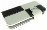 Plånbok Två Färgard Svart & Vit (iPhone 5)
