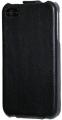 iPhone 4S Läderfodral Handmade Svart