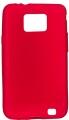 Samsung Galaxy S2 Silikon Skal Röd