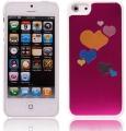 Hjärta Aluminium Rosa (iPhone 5)