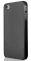 iPhone 4S Svart Transparent Skal