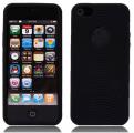 Cirklar Mjuk Silikon Svart iPhone 5