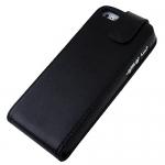 iPhone 5 PU Läderfodral Svart
