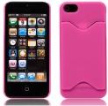 Kreditkortshållare Rosa (iPhone 5)