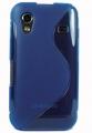 Samsung Galaxy Ace TPU Silikon Skal Blå