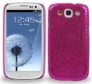 Samsung Galaxy S3 Glitter Skal Cerise