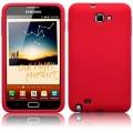 Samsung Galaxy Note Röd Silikon Skal