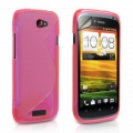 HTC One S S-Line Skal Rosa