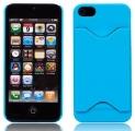 Kreditkortshållare Blå (iPhone 5)