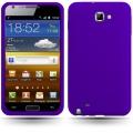 Samsung Galaxy Note Lila Silikon Skal