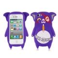 Enögd Piratgris iPhone 5 Skal Lila