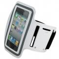 Sportarmband Neopren Vit (iPhone 5)
