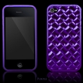 Elite Series Lila TPU Skal iPhone 4S