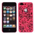 Blommor & Blad Röd (iPhone 5)