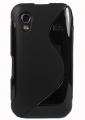 Samsung Galaxy Ace TPU Silikon Skal Svart