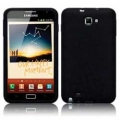 Samsung Galaxy Note Svart Silikon Skal