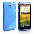 HTC One X Blå S-Line Skal