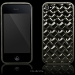 Elite Series Svart TPU Skal iPhone 4S