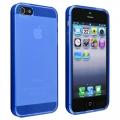 iPhone 5 Blå Frost TPU
