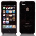 Cirklar Transparent Svart Skal (iPhone 5)