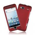 HTC Desire Z röd plast skal