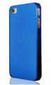 Transparent Plast Blå iPhone 4