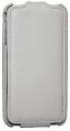 iPhone 4 Läderfodral Handmade Vit